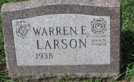 LARSON, WARREN E. - Yankton County, South Dakota | WARREN E. LARSON - South Dakota Gravestone Photos