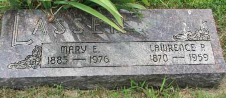 LASSEN, MARY E. - Yankton County, South Dakota | MARY E. LASSEN - South Dakota Gravestone Photos