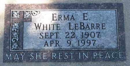 LEBARRE, ERMA E. - Yankton County, South Dakota | ERMA E. LEBARRE - South Dakota Gravestone Photos