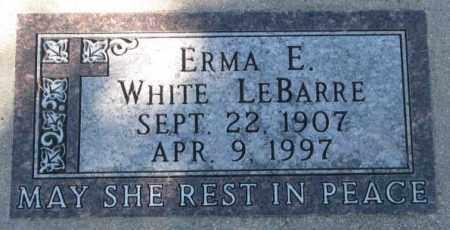 LEBARRE, ERMA E. - Yankton County, South Dakota | ERMA E. LEBARRE - South Dakota Gravestone Photos
