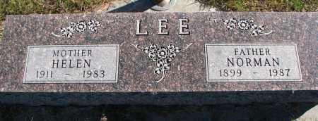 LEE, HELEN - Yankton County, South Dakota | HELEN LEE - South Dakota Gravestone Photos