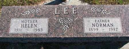 LEE, HELEN - Yankton County, South Dakota | HELEN LEE - South Dakota Gravestone Photos