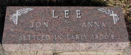 LEE, ANNA - Yankton County, South Dakota | ANNA LEE - South Dakota Gravestone Photos