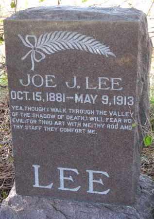 LEE, JOE J. - Yankton County, South Dakota | JOE J. LEE - South Dakota Gravestone Photos