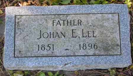 LEE, JOHAN E. - Yankton County, South Dakota | JOHAN E. LEE - South Dakota Gravestone Photos