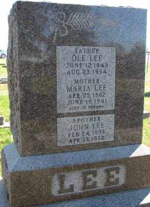 LEE, MARIA - Yankton County, South Dakota | MARIA LEE - South Dakota Gravestone Photos