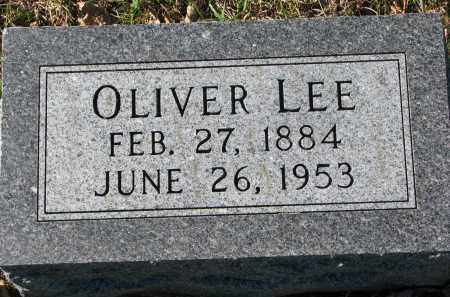 LEE, OLIVER - Yankton County, South Dakota   OLIVER LEE - South Dakota Gravestone Photos