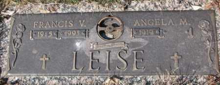 LEISE, FRANCIS V. - Yankton County, South Dakota | FRANCIS V. LEISE - South Dakota Gravestone Photos