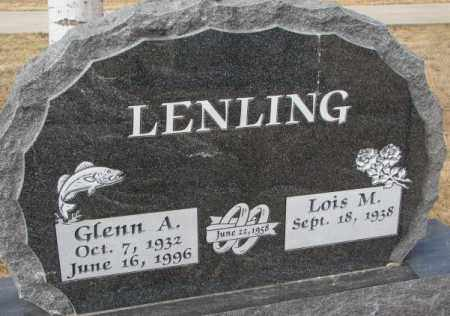 LENLING, LOIS M. - Yankton County, South Dakota | LOIS M. LENLING - South Dakota Gravestone Photos