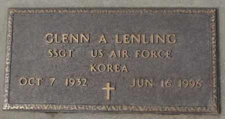LENLING, GLENN A. (KOREA) - Yankton County, South Dakota | GLENN A. (KOREA) LENLING - South Dakota Gravestone Photos