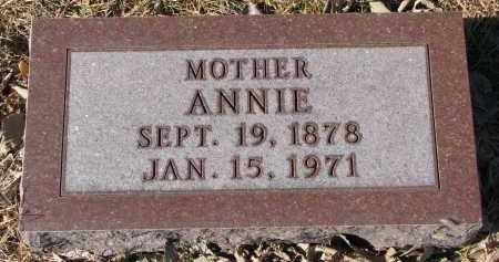 LIEN, ANNIE - Yankton County, South Dakota | ANNIE LIEN - South Dakota Gravestone Photos
