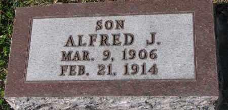LIEN, ALFRED J. - Yankton County, South Dakota   ALFRED J. LIEN - South Dakota Gravestone Photos