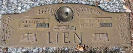 LIEN, CHESTER J. - Yankton County, South Dakota | CHESTER J. LIEN - South Dakota Gravestone Photos