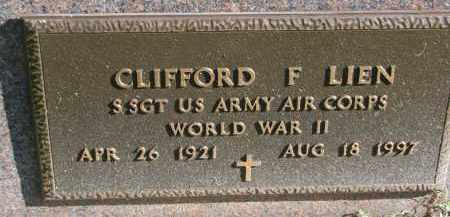 LIEN, CLIFFORD F. (WW II) - Yankton County, South Dakota | CLIFFORD F. (WW II) LIEN - South Dakota Gravestone Photos