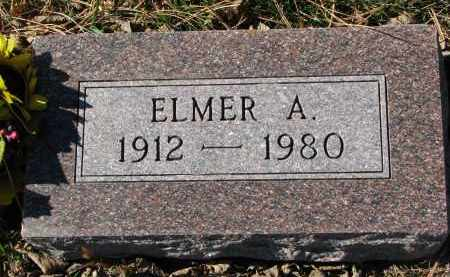 LIEN, ELMER A. - Yankton County, South Dakota | ELMER A. LIEN - South Dakota Gravestone Photos
