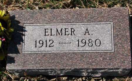 LIEN, ELMER A. - Yankton County, South Dakota | ELMER A. LIEN - South Dakota Gravestone Photos