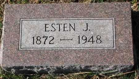 LIEN, ESTEN J. - Yankton County, South Dakota   ESTEN J. LIEN - South Dakota Gravestone Photos