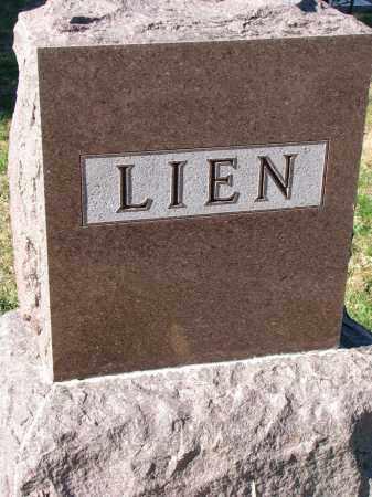 LIEN, FAMILY STONE - Yankton County, South Dakota   FAMILY STONE LIEN - South Dakota Gravestone Photos
