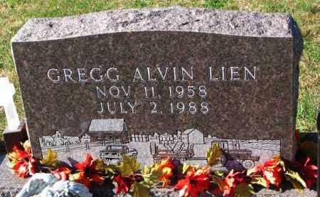 LIEN, GREGG ALVIN - Yankton County, South Dakota   GREGG ALVIN LIEN - South Dakota Gravestone Photos