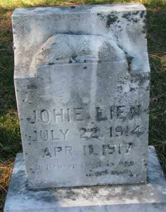 LIEN, JOHIE - Yankton County, South Dakota | JOHIE LIEN - South Dakota Gravestone Photos