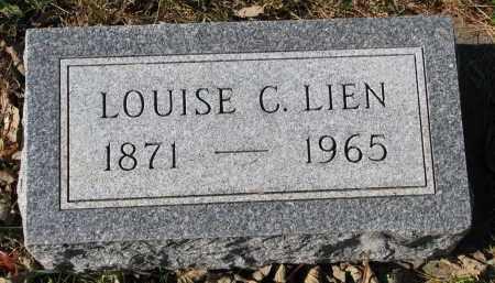 LIEN, LOUISE C. - Yankton County, South Dakota | LOUISE C. LIEN - South Dakota Gravestone Photos