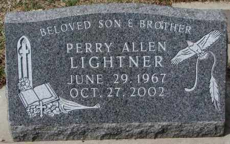 LIGHTNER, PERRY ALLEN - Yankton County, South Dakota | PERRY ALLEN LIGHTNER - South Dakota Gravestone Photos