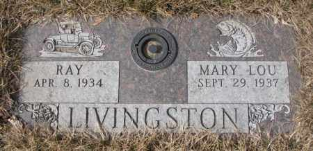 LIVINGSTON, MARY LOU - Yankton County, South Dakota | MARY LOU LIVINGSTON - South Dakota Gravestone Photos