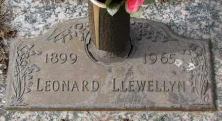LLEWELLYN, LEONARD - Yankton County, South Dakota | LEONARD LLEWELLYN - South Dakota Gravestone Photos