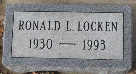 LOCKEN, RONALD L. - Yankton County, South Dakota   RONALD L. LOCKEN - South Dakota Gravestone Photos
