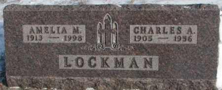 LOCKMAN, CHARLES A. - Yankton County, South Dakota | CHARLES A. LOCKMAN - South Dakota Gravestone Photos