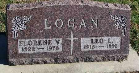 LOGAN, LEO L. - Yankton County, South Dakota | LEO L. LOGAN - South Dakota Gravestone Photos