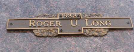LONG, ROGER U. - Yankton County, South Dakota   ROGER U. LONG - South Dakota Gravestone Photos