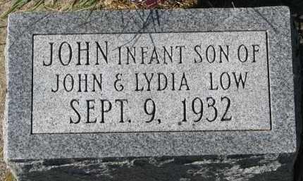 LOW, JOHN - Yankton County, South Dakota   JOHN LOW - South Dakota Gravestone Photos