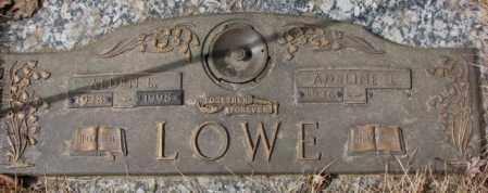 LOWE, ALDEN L. - Yankton County, South Dakota   ALDEN L. LOWE - South Dakota Gravestone Photos