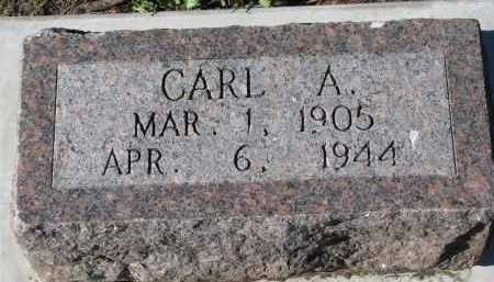 LOWE, CARL A. - Yankton County, South Dakota | CARL A. LOWE - South Dakota Gravestone Photos