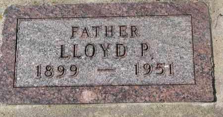 LOWE, LLOYD P. - Yankton County, South Dakota   LLOYD P. LOWE - South Dakota Gravestone Photos