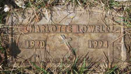 LOWELL, CHARLOTTE - Yankton County, South Dakota | CHARLOTTE LOWELL - South Dakota Gravestone Photos