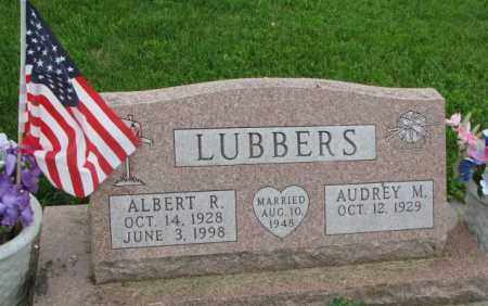 LUBBERS, ALBERT R. - Yankton County, South Dakota | ALBERT R. LUBBERS - South Dakota Gravestone Photos