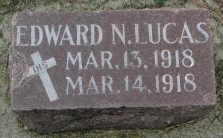 LUCAS, EDWARD N. - Yankton County, South Dakota | EDWARD N. LUCAS - South Dakota Gravestone Photos