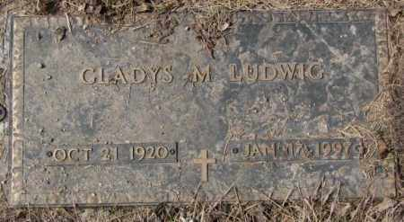 LUDWIG, GLADYS M. - Yankton County, South Dakota   GLADYS M. LUDWIG - South Dakota Gravestone Photos