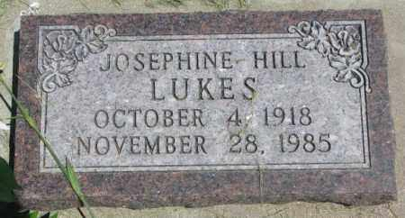 LUKES, JOSEPHINE - Yankton County, South Dakota | JOSEPHINE LUKES - South Dakota Gravestone Photos