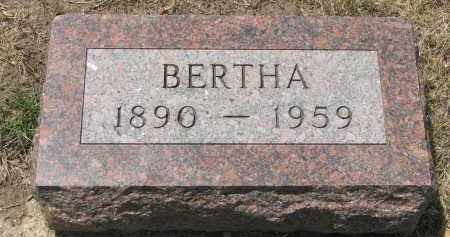 LUTZ, BERTHA - Yankton County, South Dakota | BERTHA LUTZ - South Dakota Gravestone Photos