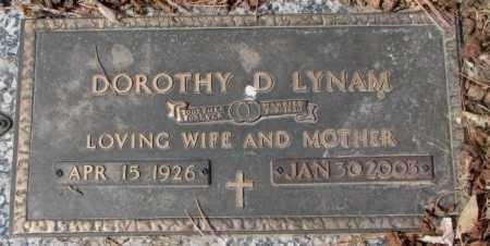 LYNAM, DOROTHY D. - Yankton County, South Dakota   DOROTHY D. LYNAM - South Dakota Gravestone Photos