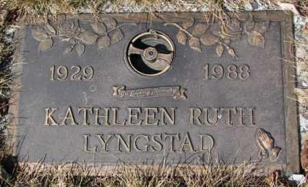 LYNGSTAD, KATHLEEN RUTH - Yankton County, South Dakota | KATHLEEN RUTH LYNGSTAD - South Dakota Gravestone Photos