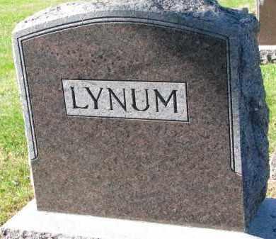 LYNUM, FAMILY STONE - Yankton County, South Dakota   FAMILY STONE LYNUM - South Dakota Gravestone Photos