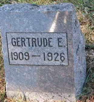LYNUM, GERTRUDE E. - Yankton County, South Dakota | GERTRUDE E. LYNUM - South Dakota Gravestone Photos