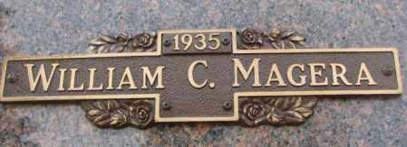 MAGERA, WILLIAM C. - Yankton County, South Dakota | WILLIAM C. MAGERA - South Dakota Gravestone Photos
