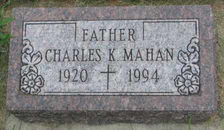 MAHAN, CHARLES K. - Yankton County, South Dakota | CHARLES K. MAHAN - South Dakota Gravestone Photos