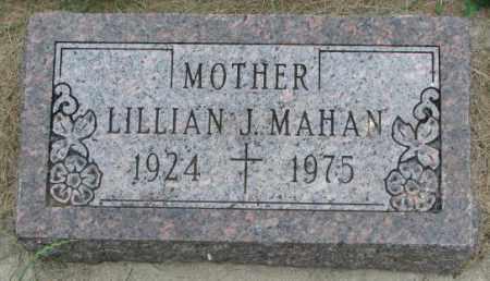 MAHAN, LILLIAN J. - Yankton County, South Dakota | LILLIAN J. MAHAN - South Dakota Gravestone Photos