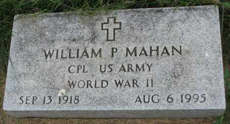MAHAN, WILLIAM P. - Yankton County, South Dakota   WILLIAM P. MAHAN - South Dakota Gravestone Photos
